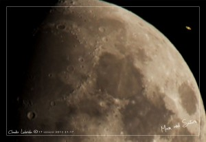 Luna e Saturno